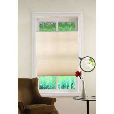 Top Down/Bottom Up Ivory Cordless Cellular Shade - 27 in. W x 64 in. L