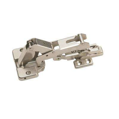 170-Degree Chrome Full Overlay European Hinge (1-Pair)