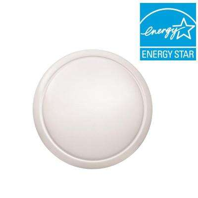 24 in. Round LED Flush Mount Soft White