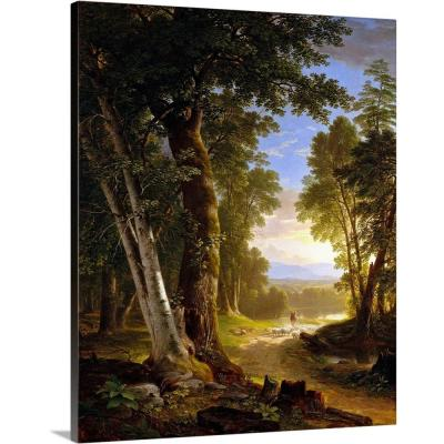 """The Beeches"" by Asher Brown Durand Canvas Wall Art"