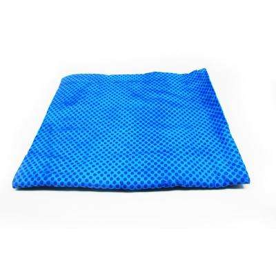32 in. x 8 in. Cooling Towel in Blue