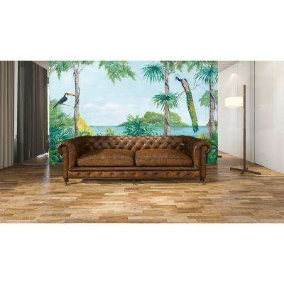 Blue Lagoon Scenic Landscapes Wall Mural