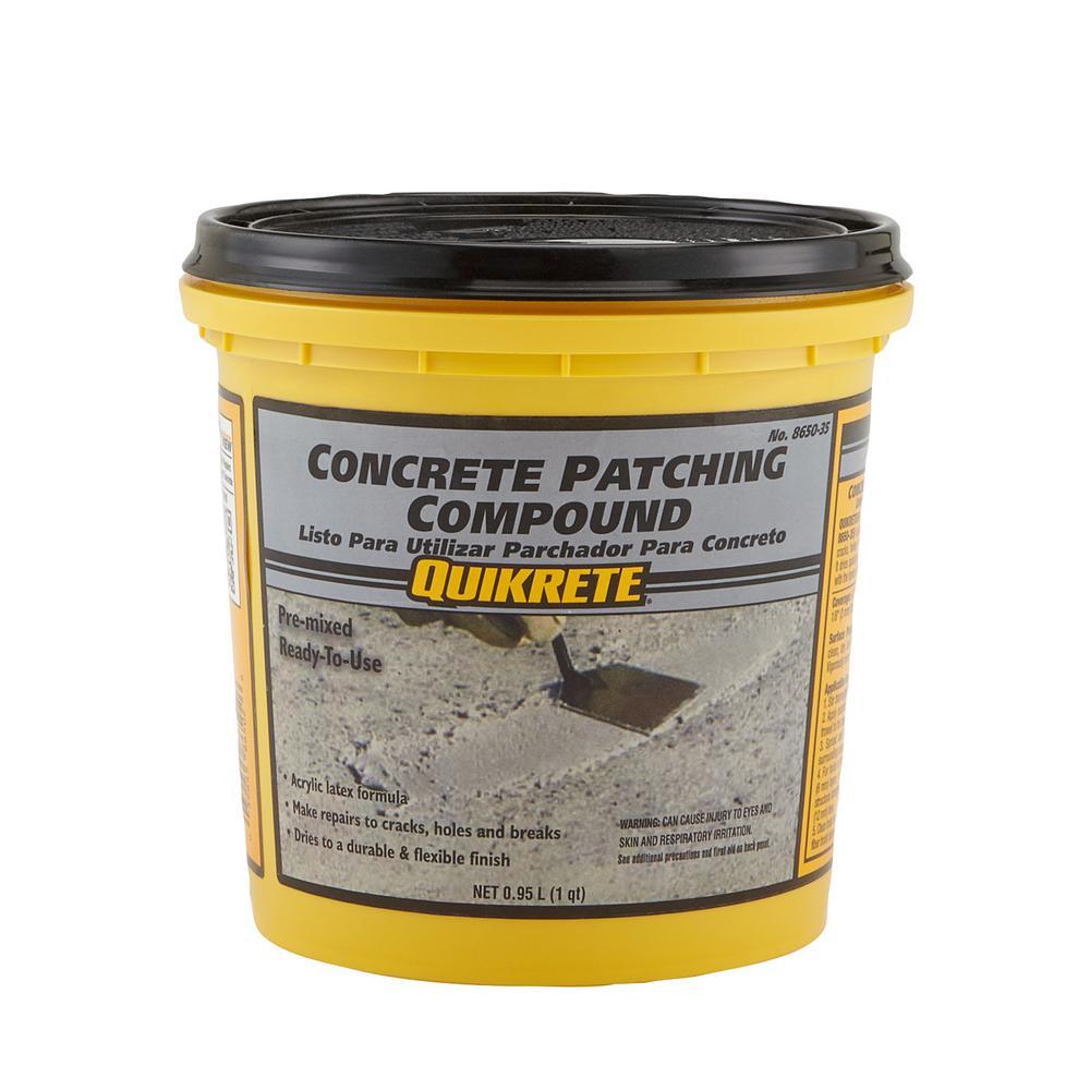 4 Lb 1 Qt Concrete Patching Compound