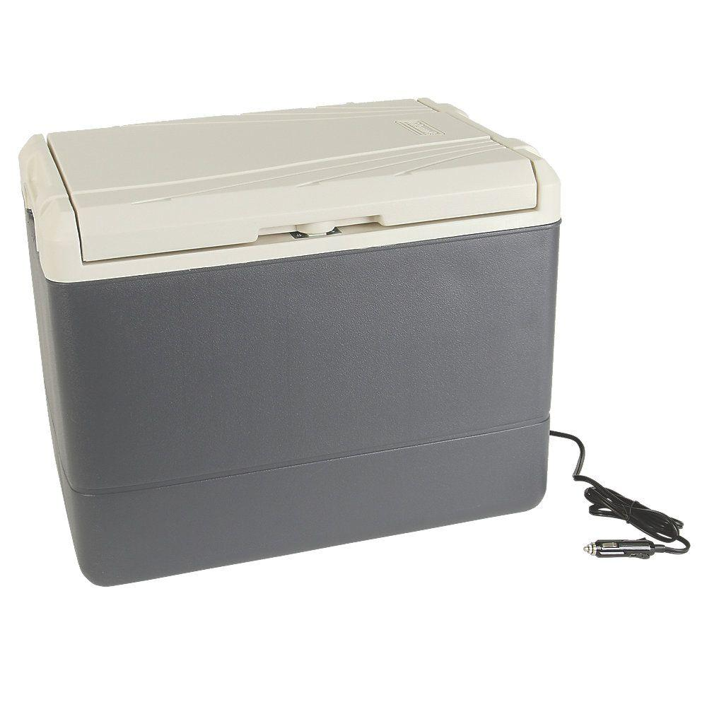 Genial Coleman 40 Qt. Thermoelectric Cooler With 120 Volt Adapter