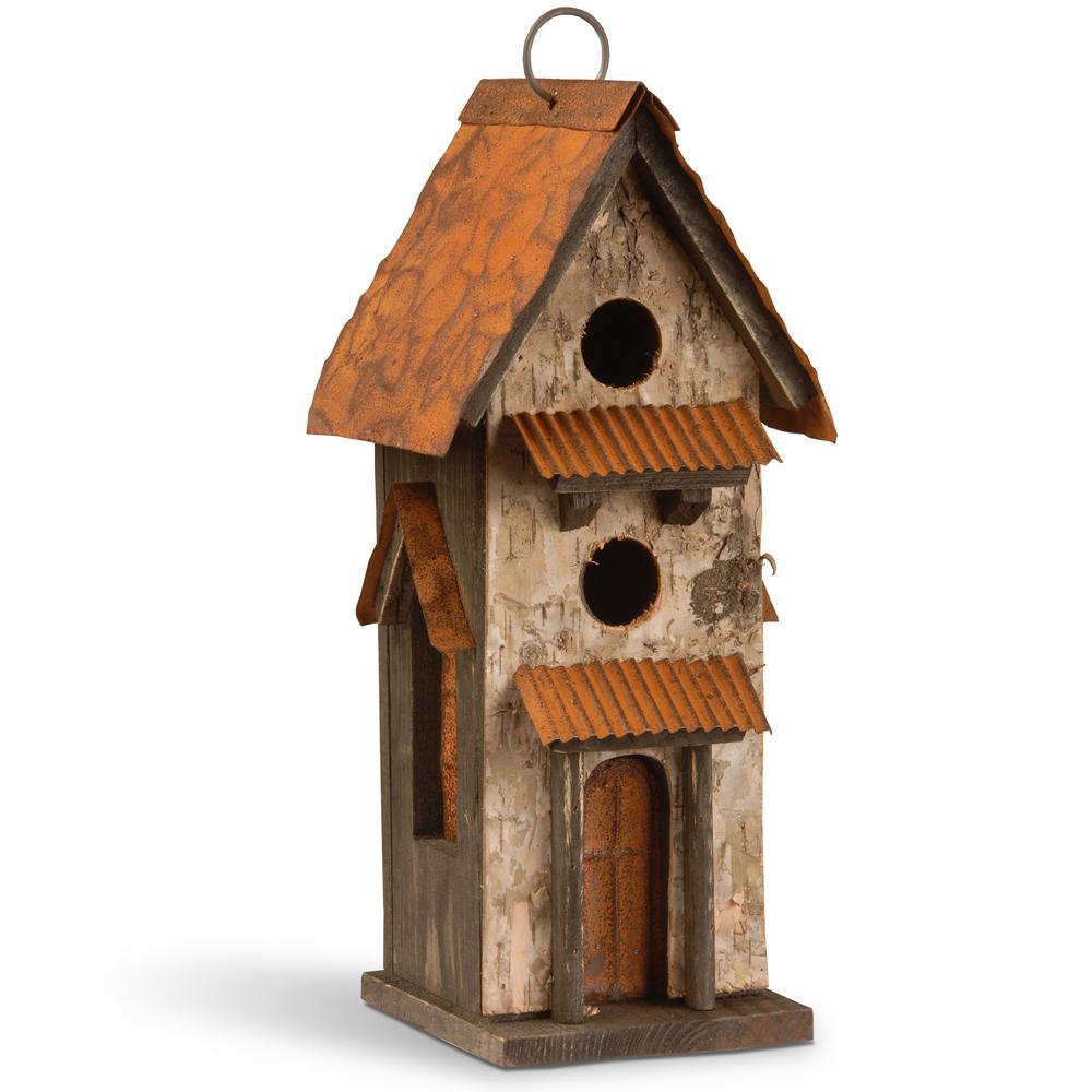 12.6 in. Bird House