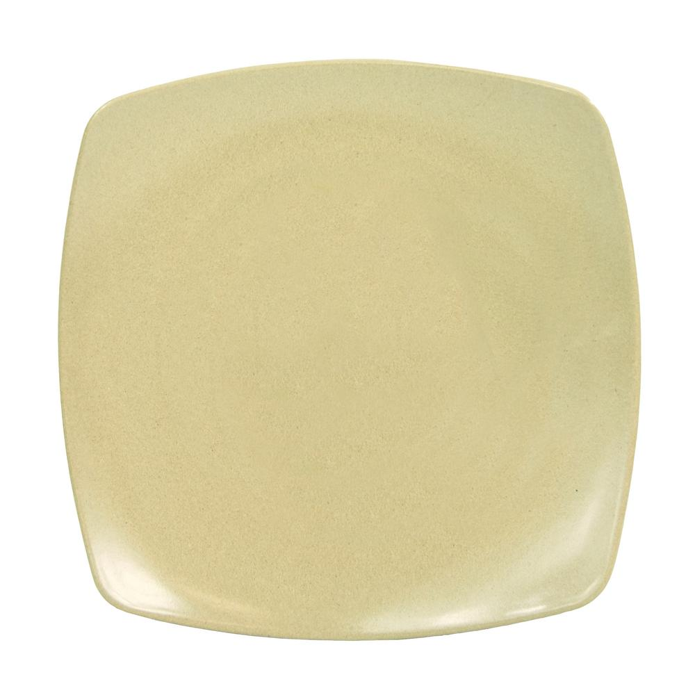 Husk Natural Small Square Plate