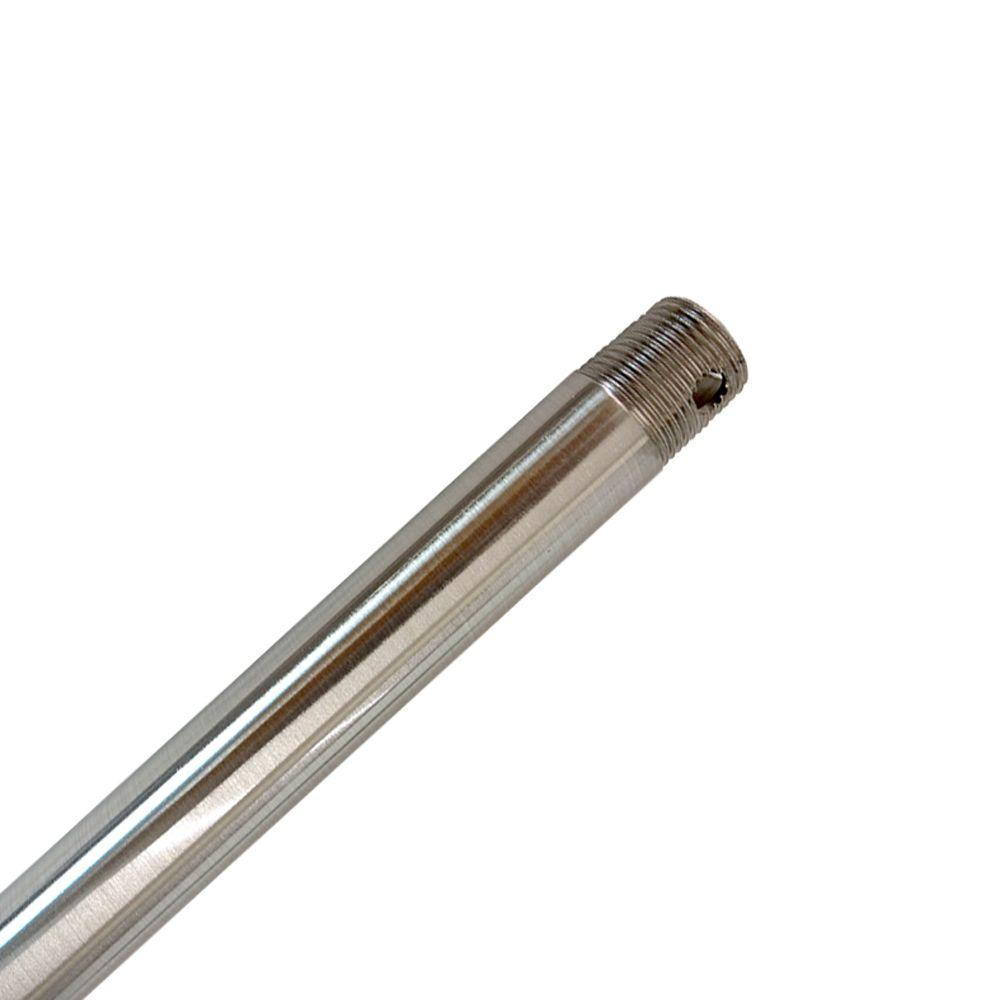 12 in. Brushed Nickel Extension Downrod