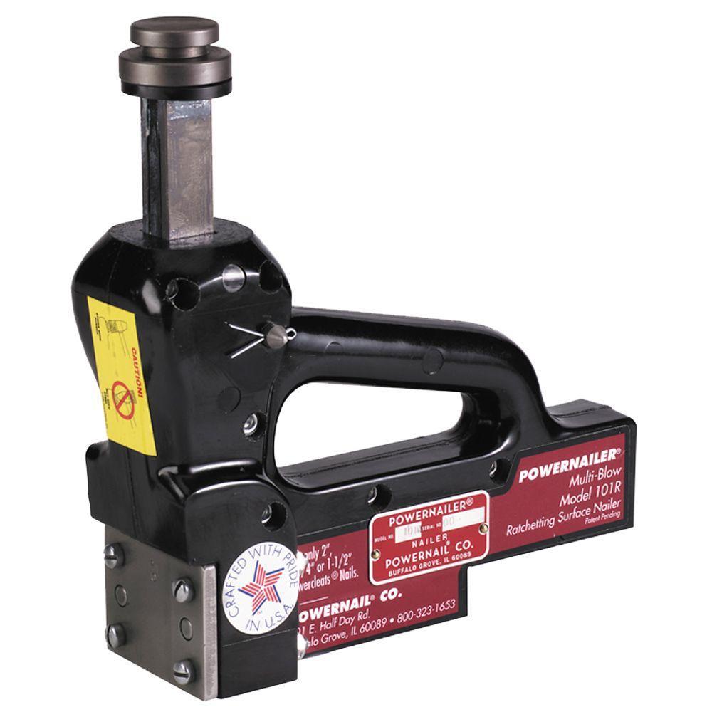 POWERNAIL 16-Gauge Manual Hardwood Floor Ratcheting