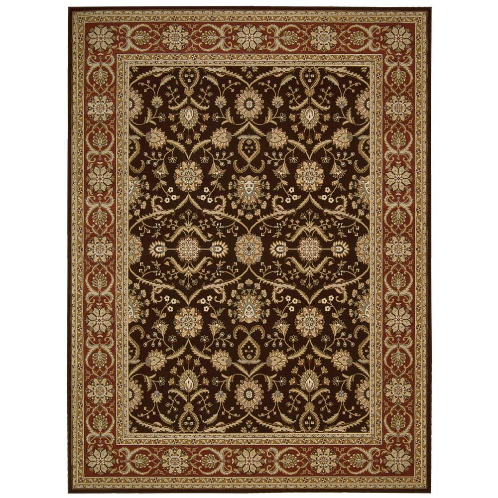 Persian Crown Malti Dark Brown 3 ft. 9 in. x 5