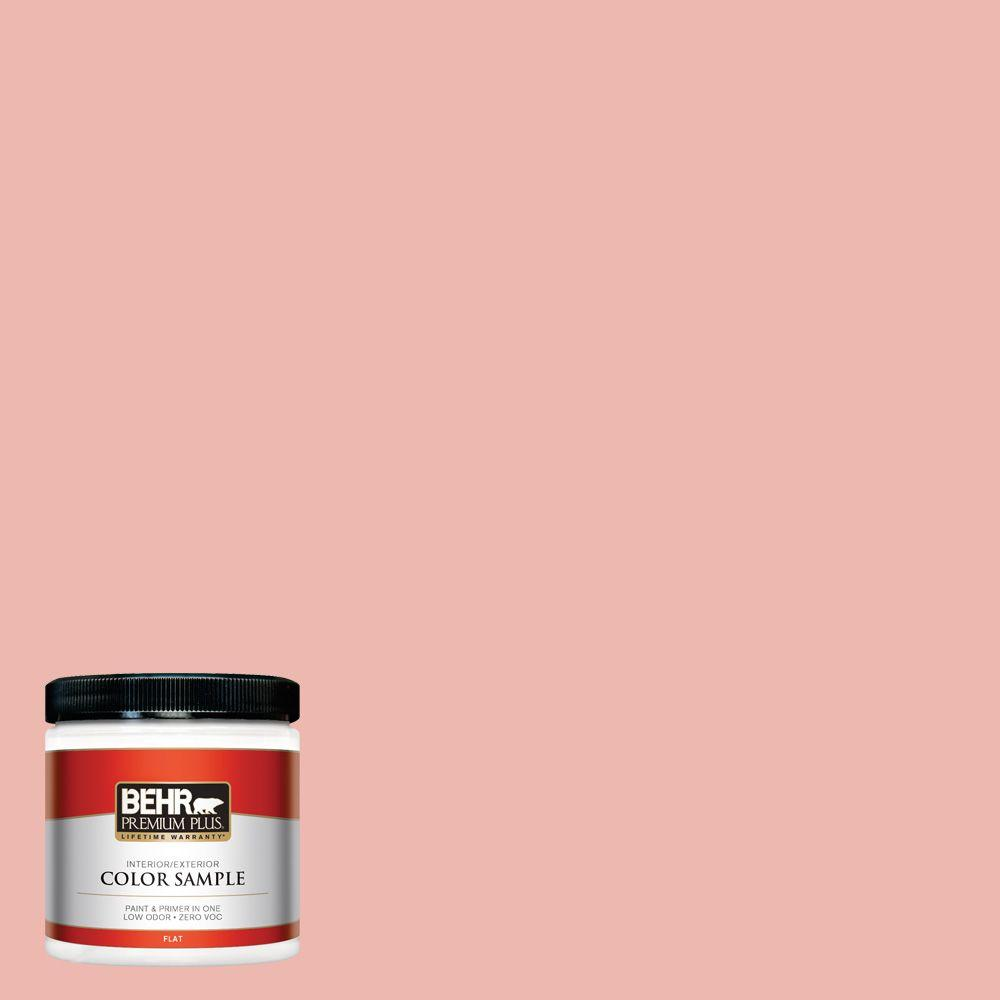 8 oz. #M170-3 Carnation Coral Interior/Exterior Paint Sample