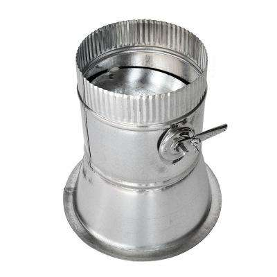 10 in. Conical Flanged Tap with Damper