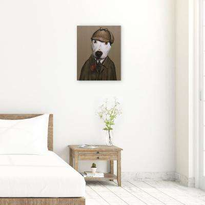 "20 in. x 16 in. ""Detective"" Graphic Art on Wrapped Canvas Wall Art"