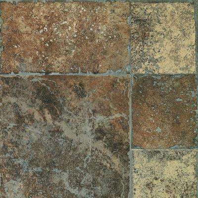 Aged Terracotta Laminate Flooring - 5 in. x 7 in. Take Home Sample
