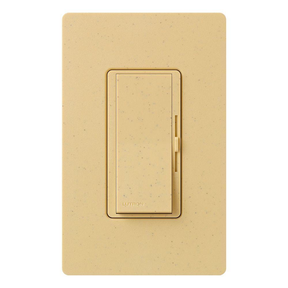 Diva Electronic Low Voltage Dimmer, 300-Watt, Single-Pole or 3-Way, Goldstone
