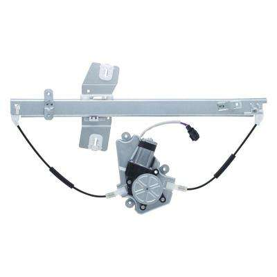 Power Window Regulator and Motor Assembly - Front Left