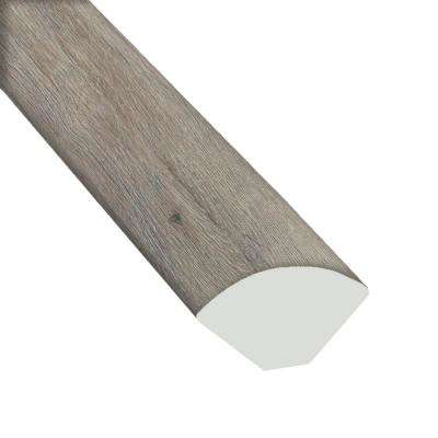 Big Bear Oak 2/3 in. Thick x 3/5 in. Wide x 94 in. Length Luxury Vinyl Quarter Round Molding