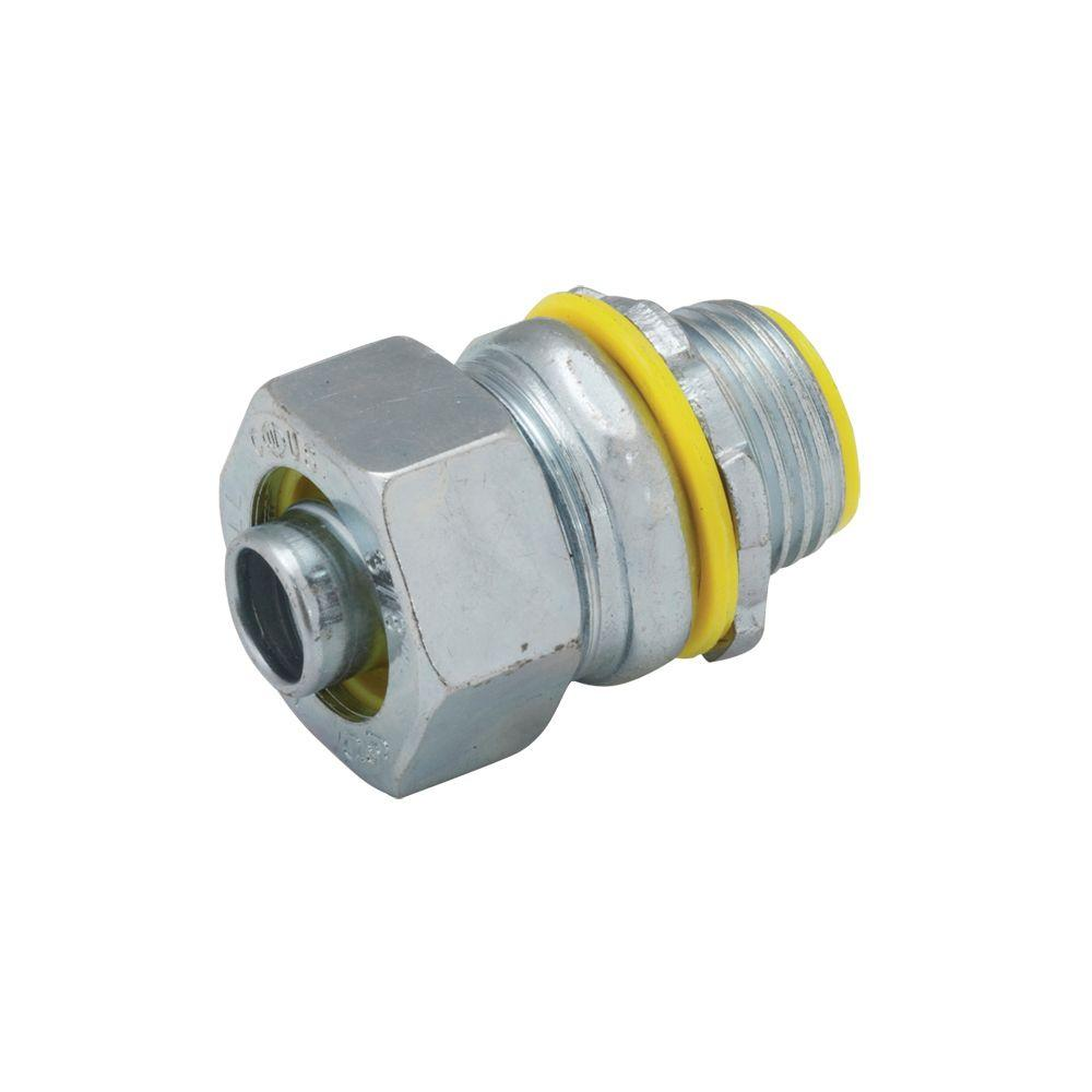 RACO Liquidtight 1 in. Insulated Connector (10-Pack)