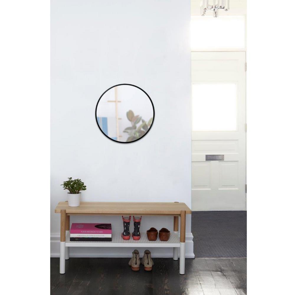 24 in. Spruce Hub Mirror