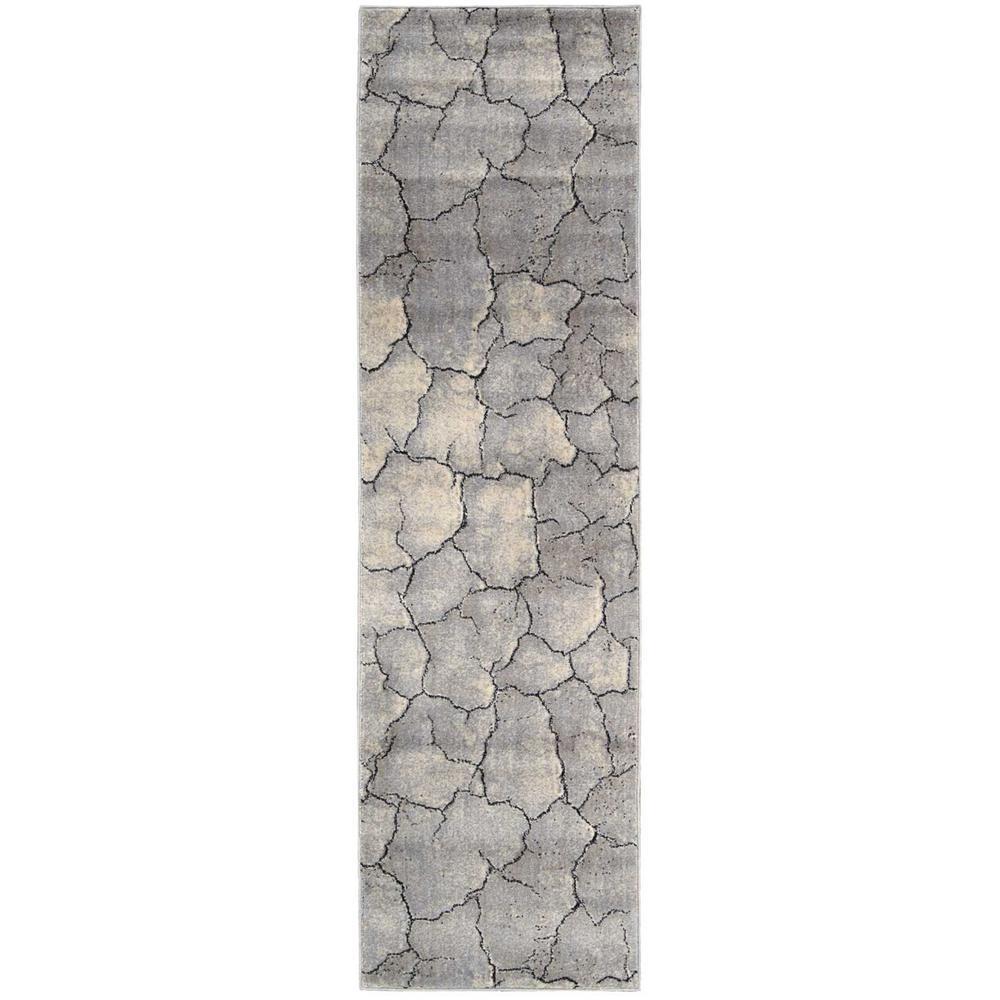 Utopia Granite 2 ft. x 8 ft. Runner Rug