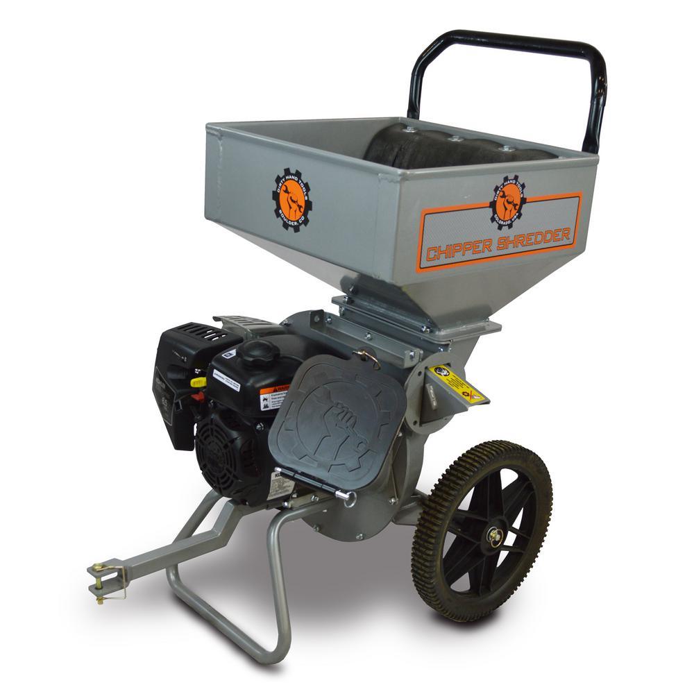 65 hp gas powered chipper shredder 106817 the home depot