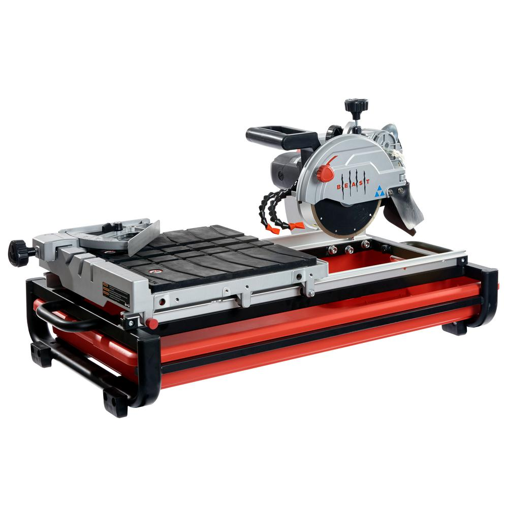 Beast Professional 13 Amp/156-Volt 7 in. Wet Tile Saw