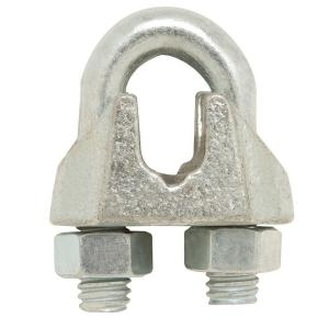 1/8 in. Zinc-Plated Wire Rope Clamp (2-Pack)