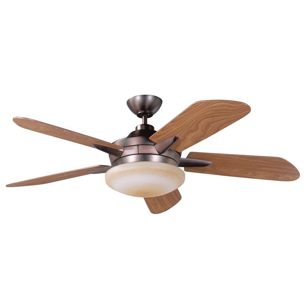 Designers Choice Collection Sirus 52 in. Oil Brushed Bronze Ceiling Fan