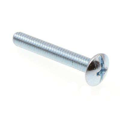 #8-32 x 1-1/8 in. Zinc Plated Steel Phillips/Slotted Combination Drive Truss Head Machine Screws (100-Pack)