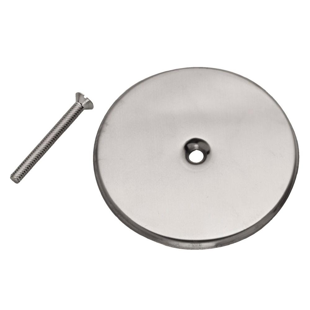 Oatey 6 in. Stainless Steel Cover Plate for Plug