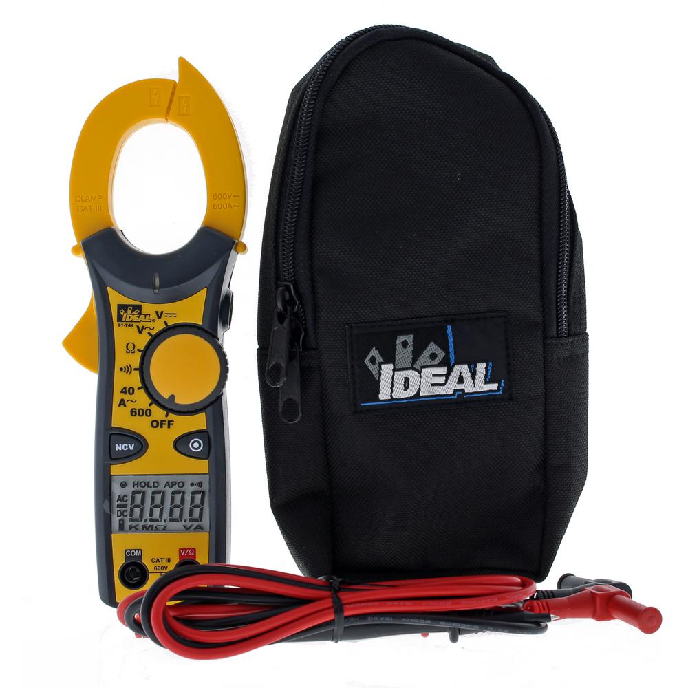 Ideal Clamp Meter 600 Amp AC with NCV
