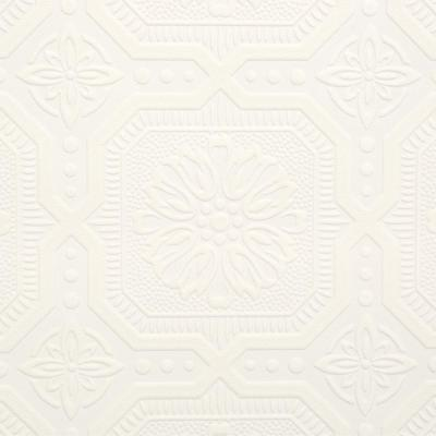White Paintable Wallpaper