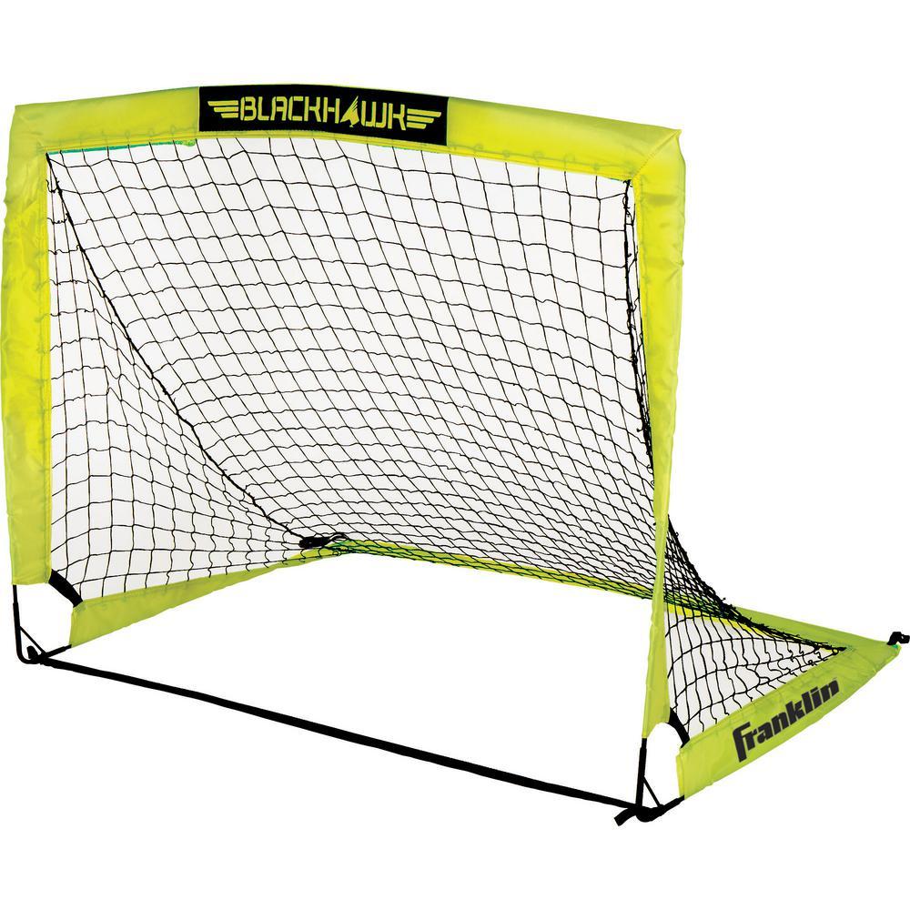 4 ft. x 3 ft. Fiberglass Blackhawk Goal
