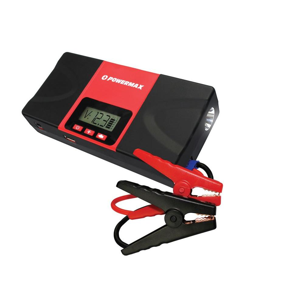 Powermax 12-Volt 18000mAh 700 Amp Lithium Portable Power Bank Battery Charger and Car Jump Starter