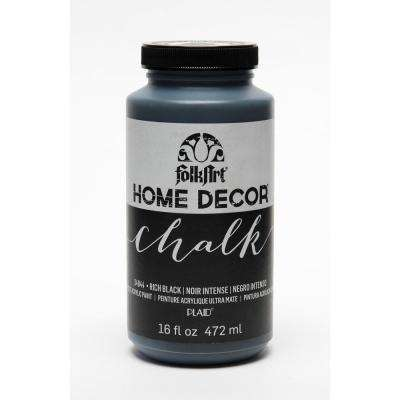 16 oz. Rich Black Chalk Finish Paint