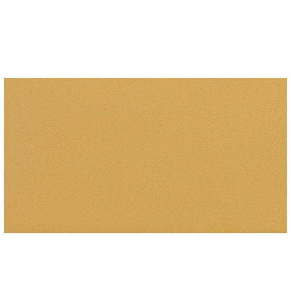 Daltile Colour Scheme Sunbeam 6 in. x 12 in. Ceramic Bullnose Floor And Wall Tile