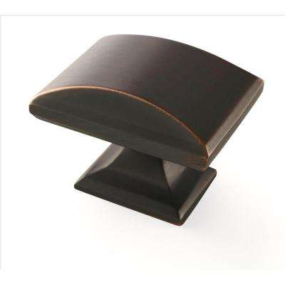Candler 1-1/2 in. (38 mm) Oil-Rubbed Bronze Cabinet Knob