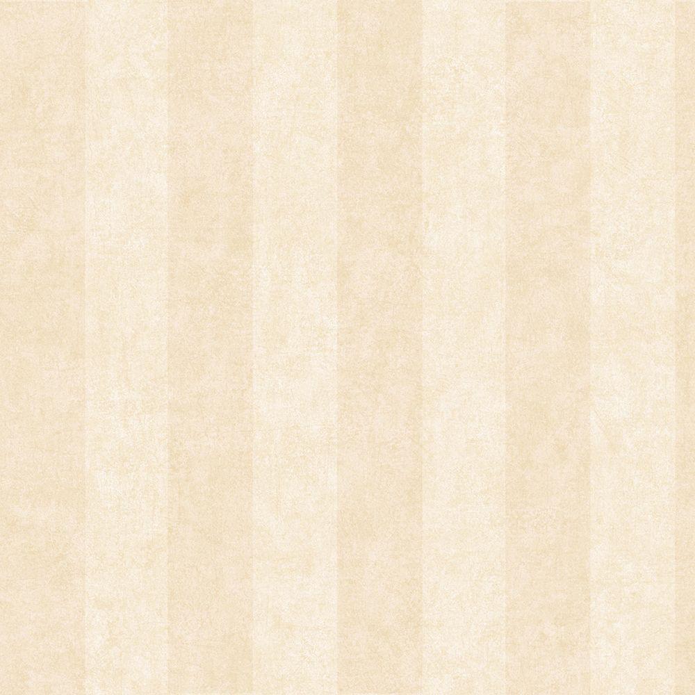 Chesapeake Yorkshire Beige Awning Stripe Wallpaper Sample