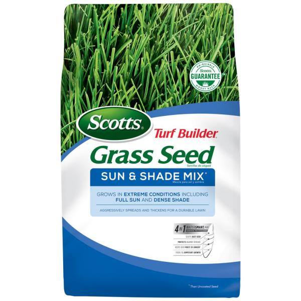 20 lb. Turf Builder Grass Seed Sun and Shade Mix