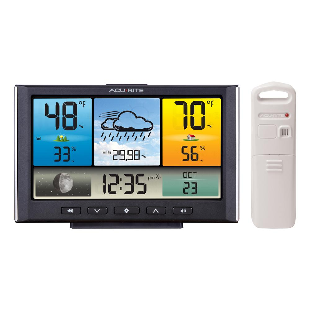 AcuRite Digital Wireless Weather Station with Color Display - AcuRite Digital Wireless Weather Station With Color Display-02098HD