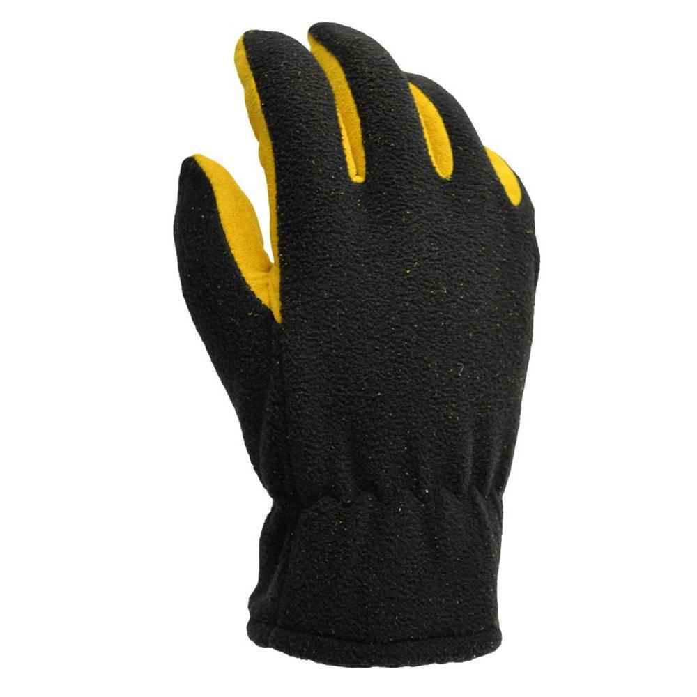 64877df4c058a Firm Grip Winter Fleece Deerskin Palm Large 40 g Thinsulate Gloves ...