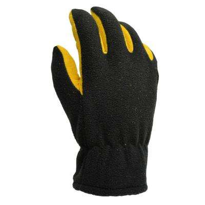 Winter Fleece Deerskin Palm Large 40 g Thinsulate Gloves
