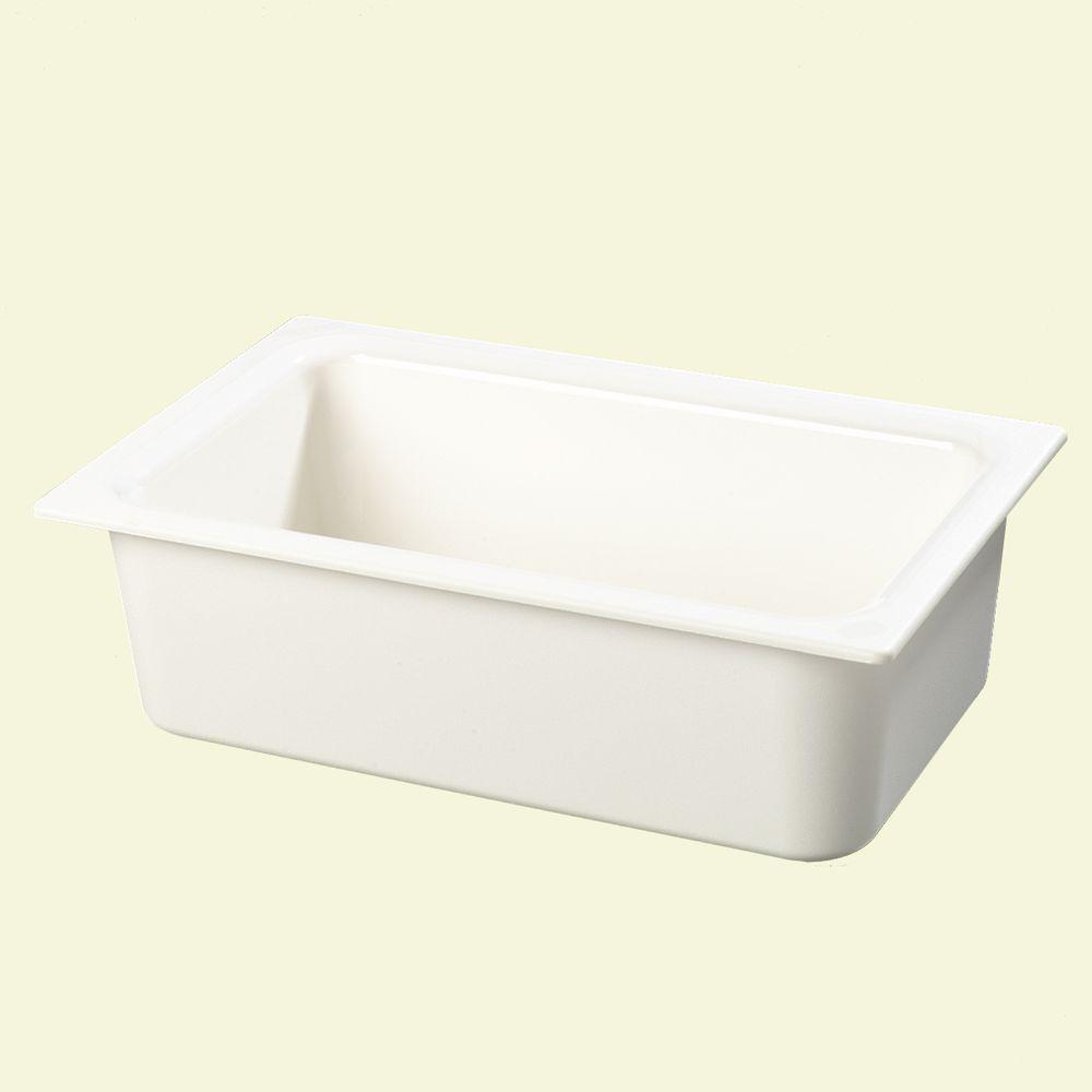 Coldmaster 6 in. Deep Full Size Food Pan in White