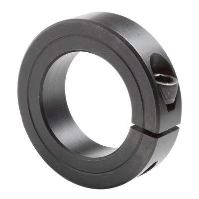 2-1/4 in. Bore Black Oxide Coated Mild Steel Clamp Collar