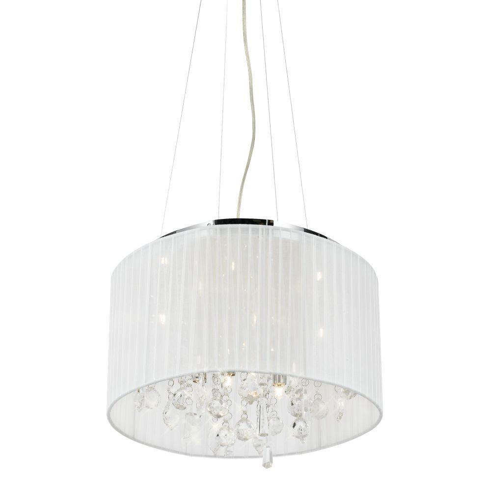 Eurofase Demoya Collection 9-Light Chrome Hanging Large Pendant