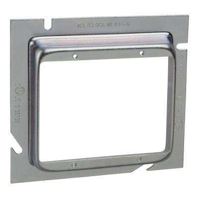 2-Gang Steel Box Extension Ring 3/4 in. Raise (20 per Case)