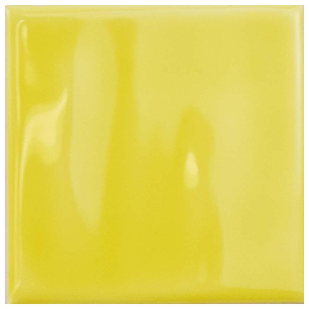 Merola tile twist square yellow lemon 3 34 in x 3 34 in merola tile twist square yellow lemon 3 34 in x 3 dailygadgetfo Choice Image