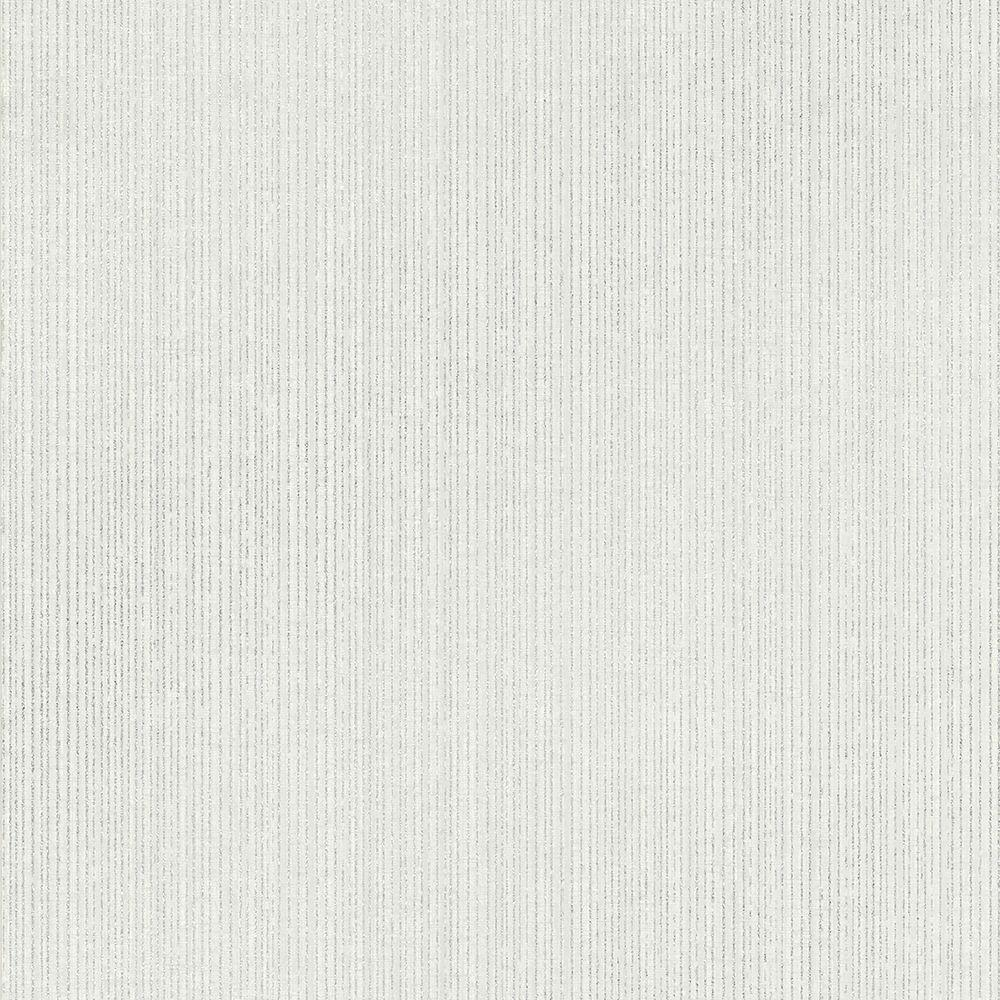 Kenneth James Comares Light Grey Stripe Texture Wallpaper