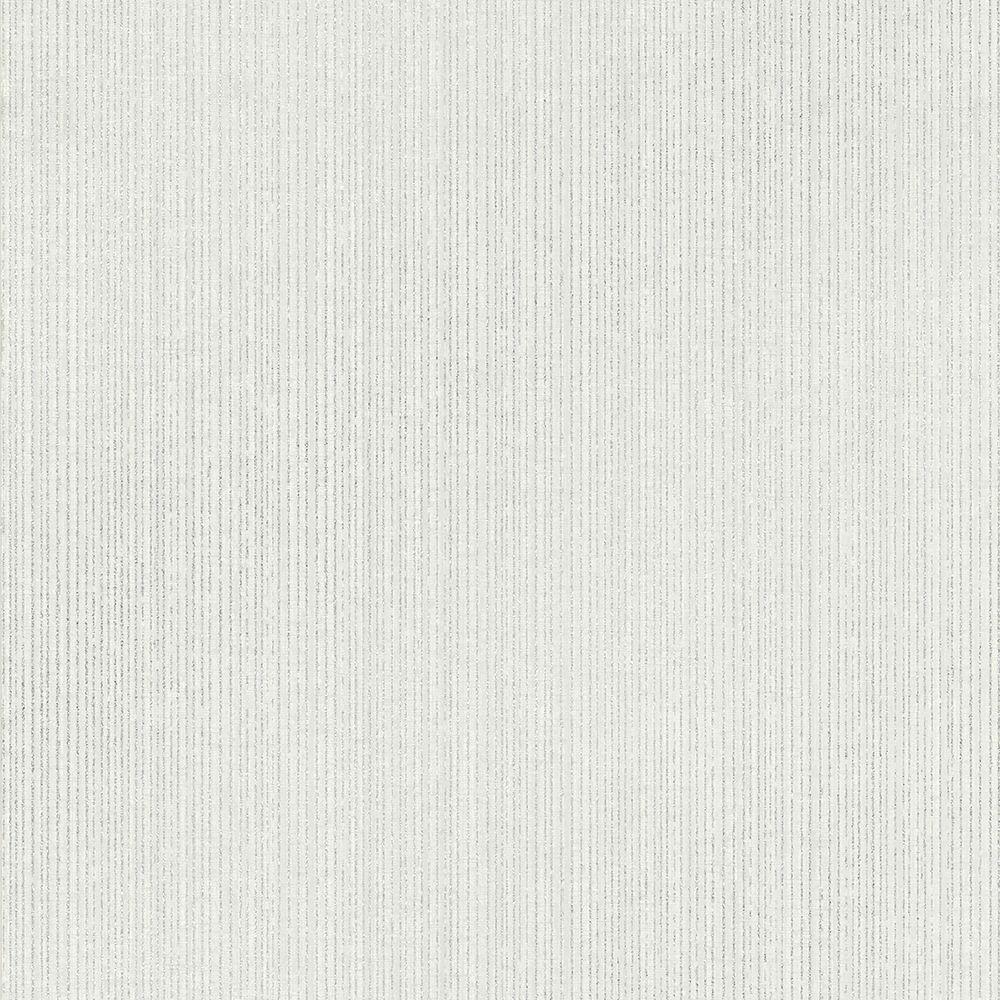 Kenneth James Comares Light Grey Stripe Texture Wallpaper