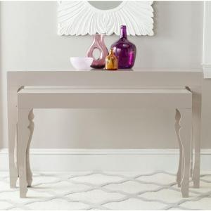 Beth Taupe 2-Piece Nesting Console Table