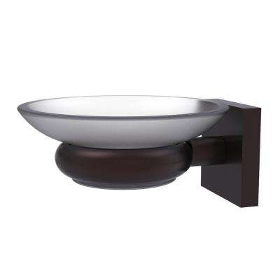 Montero Collection Wall Mounted Soap Dish in Antique Bronze